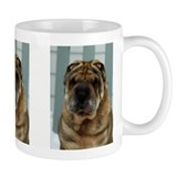 Sable Shar-Pei Head Study Small Mug