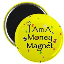 "Money Magnet Affirmation 2.25"" Magnet(100 pk)"