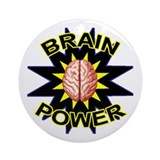 Brain Power Ornament