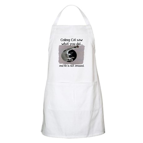 Ceiling Cat Apron