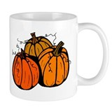 Three Pumpkins Mug