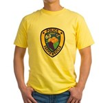 Farmersville Police Yellow T-Shirt