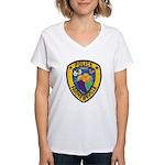 Farmersville Police Women's V-Neck T-Shirt