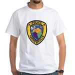Farmersville Police White T-Shirt