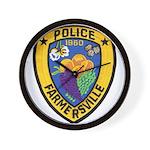 Farmersville Police Wall Clock