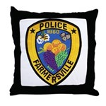 Farmersville Police Throw Pillow