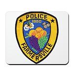 Farmersville Police Mousepad