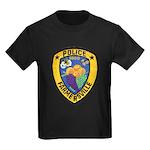 Farmersville Police Kids Dark T-Shirt