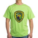 Farmersville Police Green T-Shirt