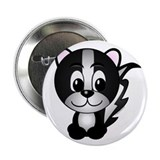 Skippy The Skunk Button