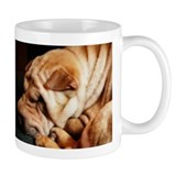 Snow Shar-Pei Coffee Mug