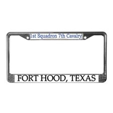 1st Squadron 7th Cav License Plate Frame