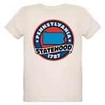Pennsylvania Statehood Organic Kids T-Shirt