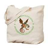 THE JABBERWOCK IS NO MORE Tote Bag