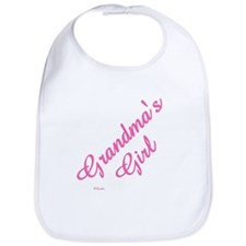 "Personalized ""Grandma's Girl"" Bib"