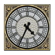 Big Ben clock face Tile Coaster
