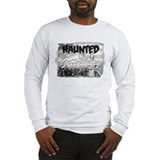 Haunted Gettysburg Long Sleeve Gray T-Shirt