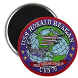 USS Ronald Reagan CVN 76 Magnet