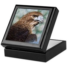 Red-tail Hawk Keepsake Box