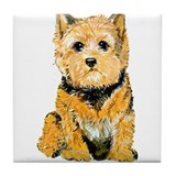 I love my Norwich Terrier Tile Coaster