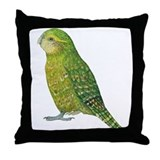 Kakapo Female Throw Pillow