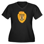 L.A. County Fire Copter Pilot Women's Plus Size V-