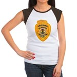 L.A. County Fire Copter Pilot Women's Cap Sleeve T