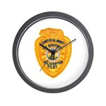L.A. County Fire Copter Pilot Wall Clock