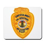 L.A. County Fire Copter Pilot Mousepad