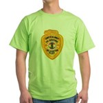 L.A. County Fire Copter Pilot Green T-Shirt