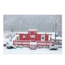 Snow Train Postcards (Package of 8)