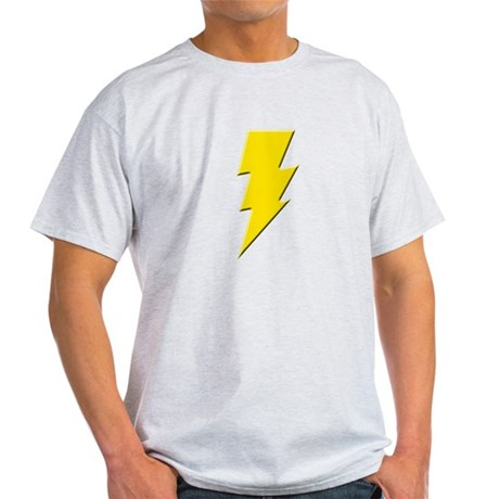 Yellow Lightning Light T-Shirt