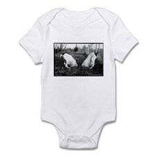 German Shorthair Dogs in a Hole Infant Bodysuit