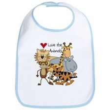 Love the Animals Bib