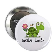 "Turtle Lover 2.25"" Button (100 pack)"