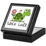 Turtle Lover Keepsake Box