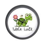 Turtle Lover Wall Clock