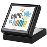 Born at Home Keepsake Box
