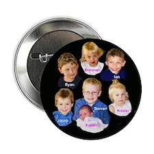 "Cute Designs rainy 2.25"" Button (100 pack)"