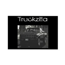 Truckzilla! Rectangle Magnet