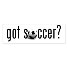 got soccer? Bumper Car Sticker