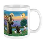 St Francis/3 dogs Mug