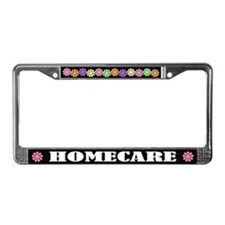 Homecare License Plate Frame