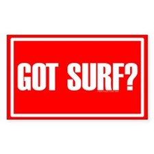 GOT SURF? Rectangle Decal