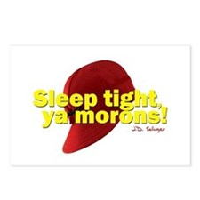 Sleep Tight, Ya Morons! Postcards (Package of 8)