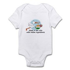 Stork Baby India USA Infant Bodysuit