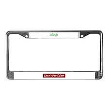 Lowrider License Plate Frame