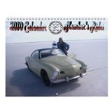 Karmann Ghia Wall Calendar