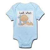 Boy 1st Birthday Infant Bodysuit