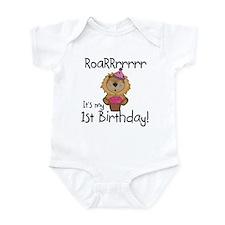 Lion 1st Birthday Infant Bodysuit